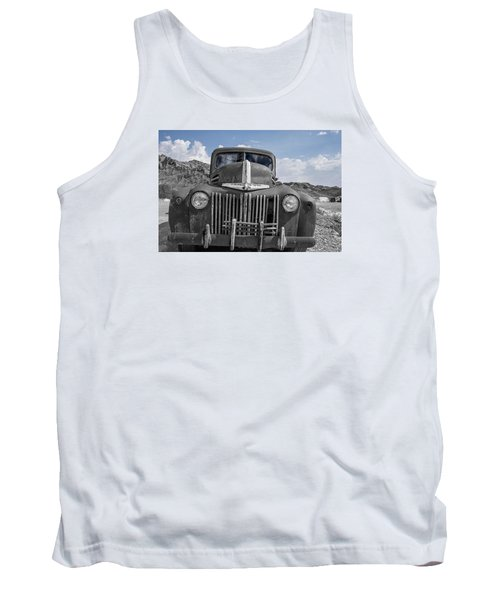 Tank Top featuring the photograph The Boss by Annette Berglund