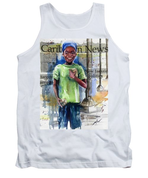 The Boy Who Sells Peanuts Tank Top