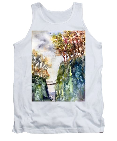 The Bridge Between Two Worlds Tank Top