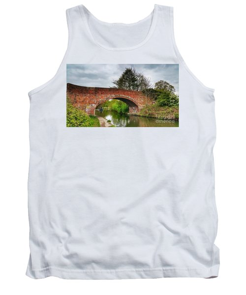 Tank Top featuring the photograph The Bridge by Isabella F Abbie Shores FRSA