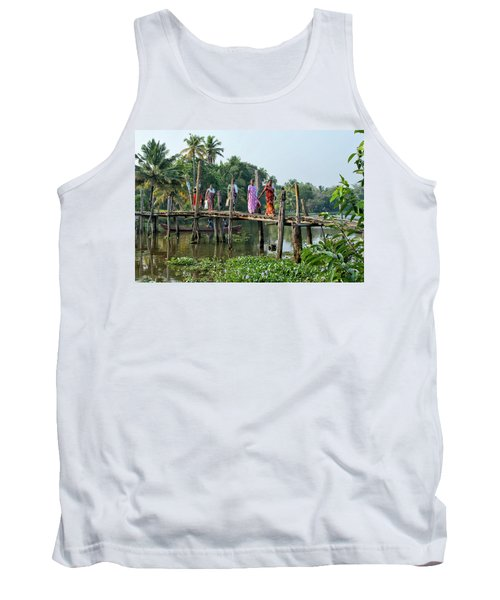 Tank Top featuring the photograph The Bridge by Marion Galt
