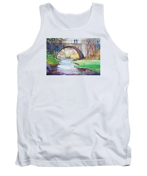 The Bridge Over Brewster Garden Tank Top by P Anthony Visco