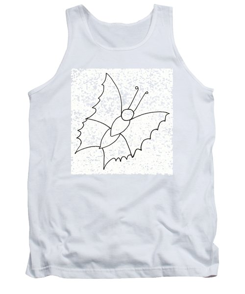 The Butterfly With No Spots Tank Top