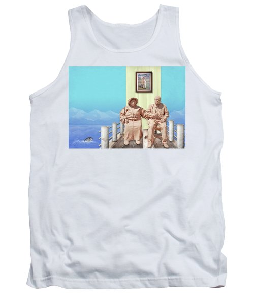 The Cadburys On Vacation Tank Top by Marty Garland