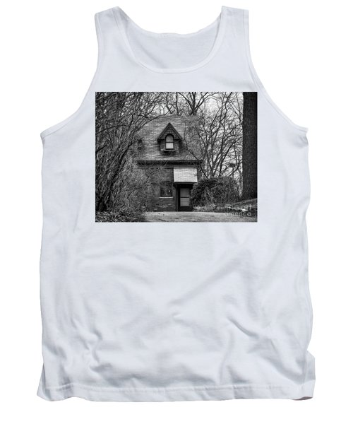 The Carriage House In Black And White Tank Top
