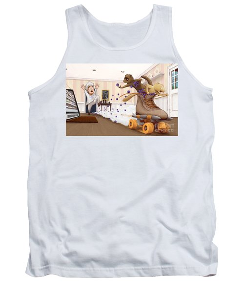 The Case Of The Missing Blueberries Tank Top