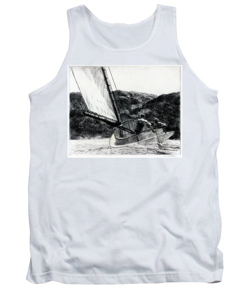 The Cat Boat Tank Top