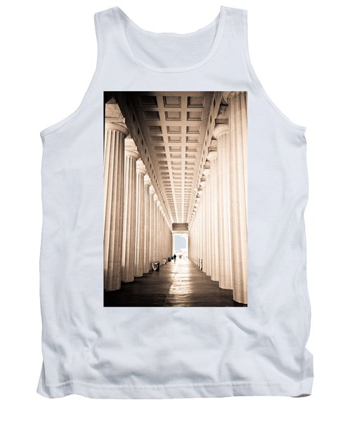 The Columns At Soldier Field Tank Top