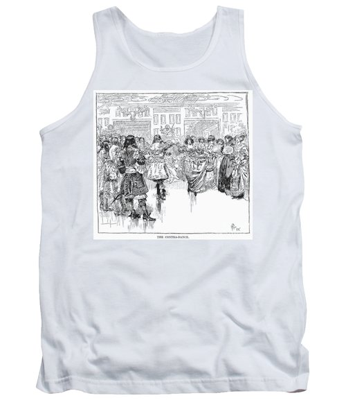 The Contra-dance, 1882 Tank Top
