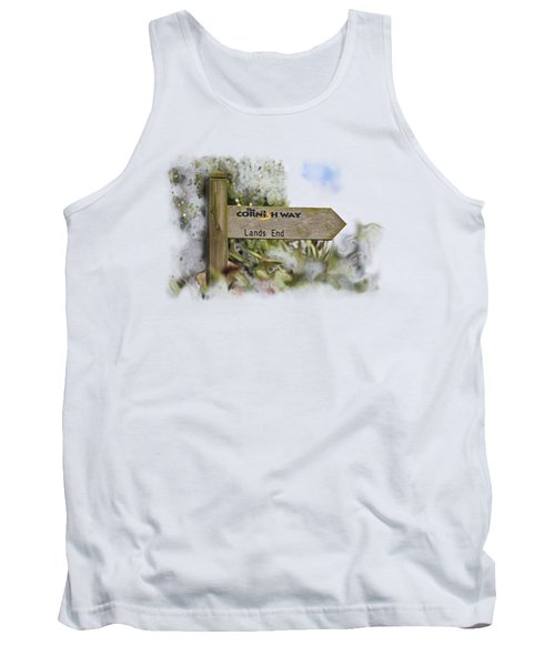 The Cornish Way On Transparent Background Tank Top
