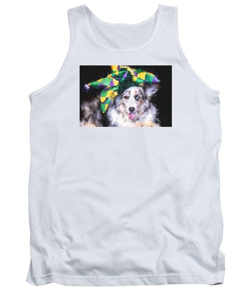 Tank Top featuring the photograph The Court Jester by Cathy Donohoue
