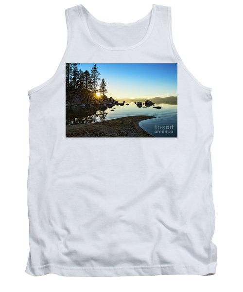 The Cove At Sand Harbor Tank Top