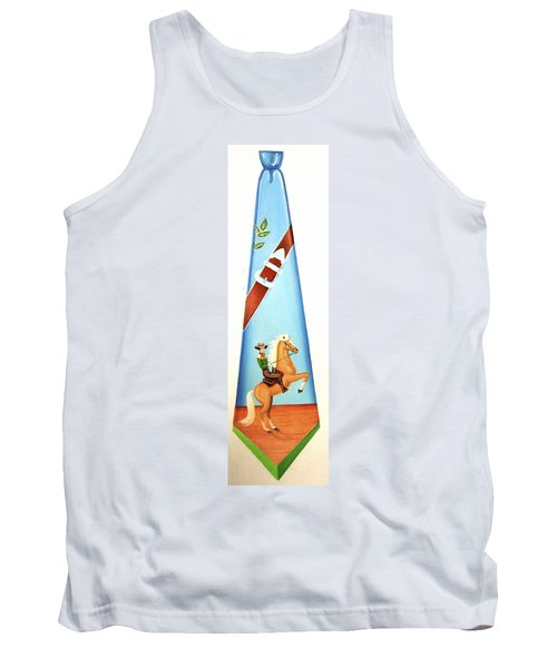 The Cowboy Tank Top by Tracy Dennison