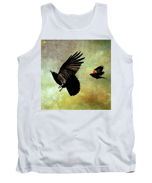 The Crow And The Blackbird Tank Top