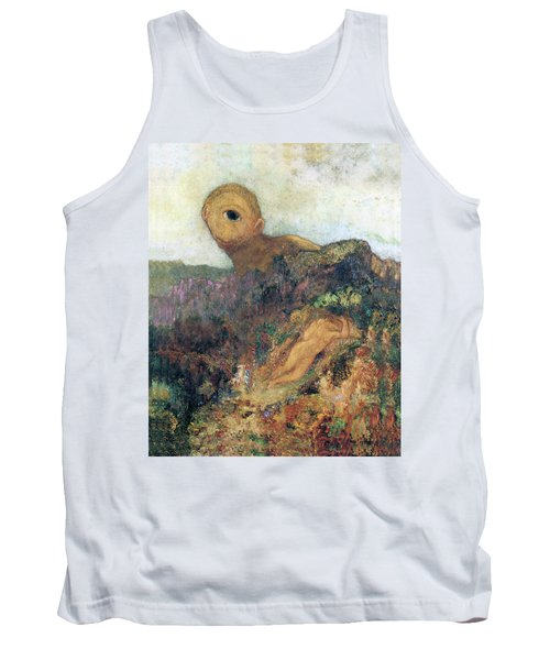 The Cyclops Tank Top by Odilon Redon