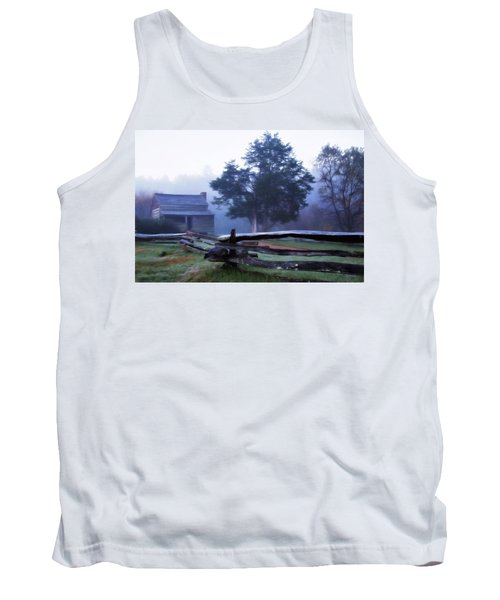 Tank Top featuring the photograph The Dan Lawson Place by Lana Trussell
