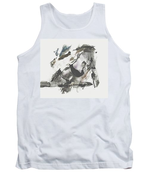 Tank Top featuring the digital art The Dancer by Galen Valle