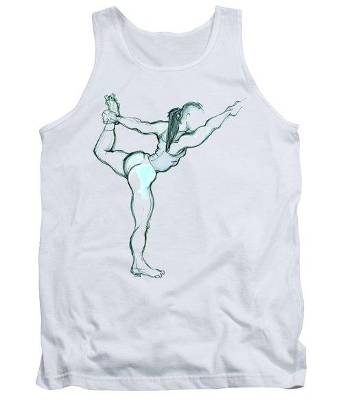 The Dancer - Yoga Pose Tank Top