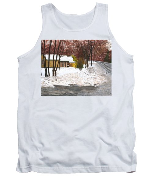 Tank Top featuring the painting The Day After by Stuart B Yaeger