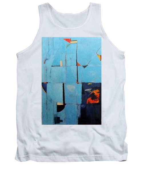 The Day Dispatches The Night Tank Top by Bernard Goodman