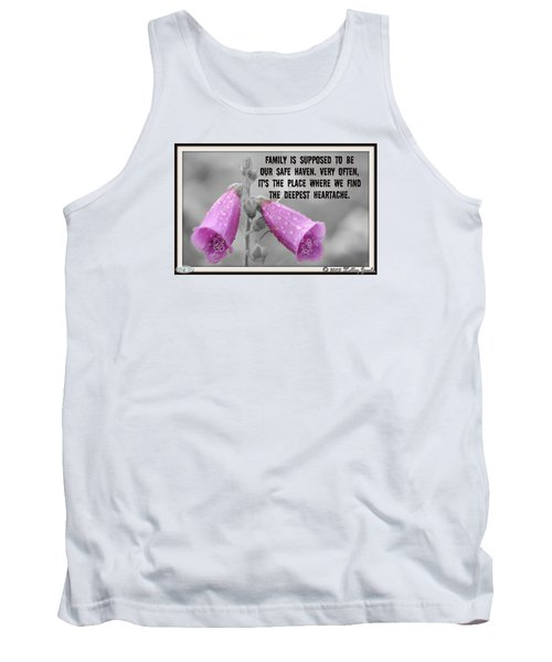 The Deepest Heartache Tank Top by Holley Jacobs