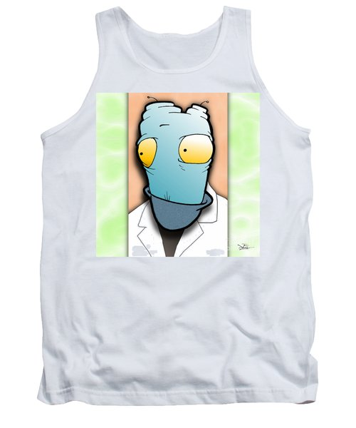 The Doctor Tank Top by Uncle J's Monsters