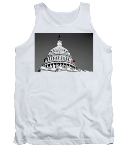 Tank Top featuring the photograph The Dome by John Schneider