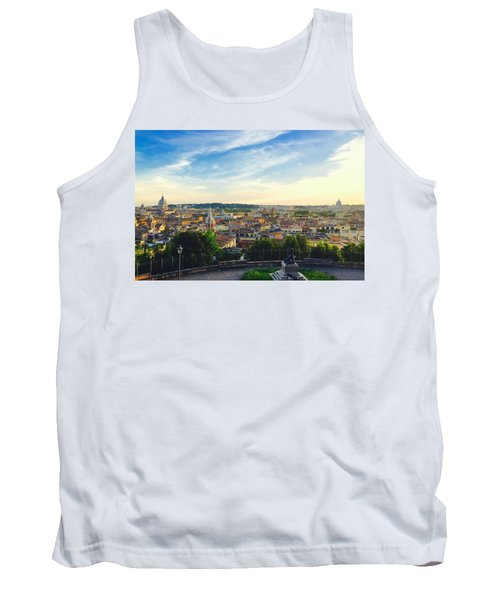 The Domes Of Rome Tank Top