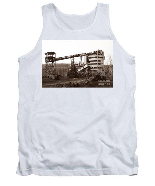 The Dorrance Coal Breaker Wilkes Barre Pennsylvania 1983 Tank Top