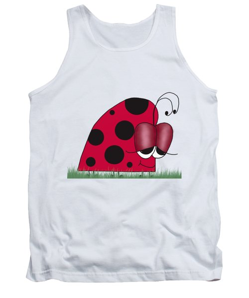 The Euphoric Ladybug Tank Top by Michelle Brenmark