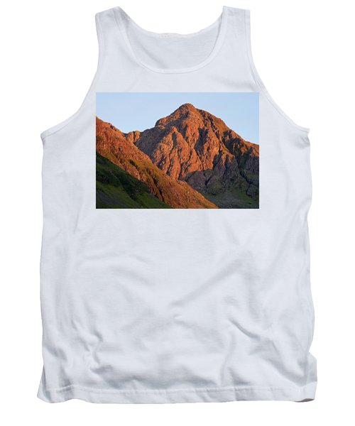 The Evening Light Hits Bidean Niam Ban Tank Top