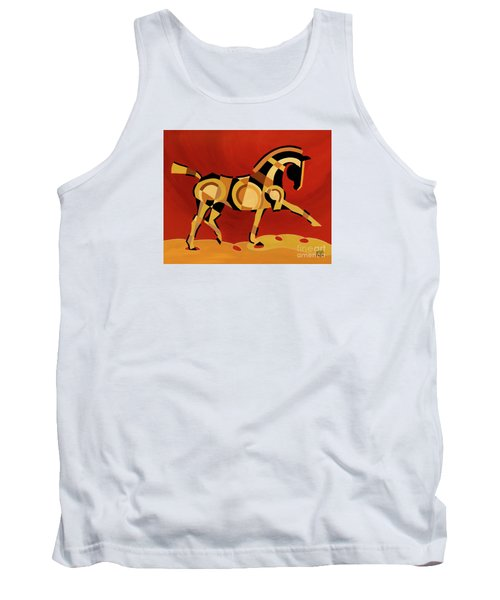 The Extension Of Equus Tank Top