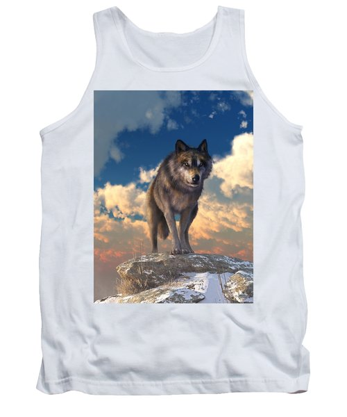 The Eyes Of Winter Tank Top