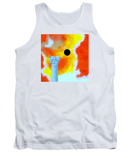 The Fall Of Rome Tank Top by Thomas Gronowski