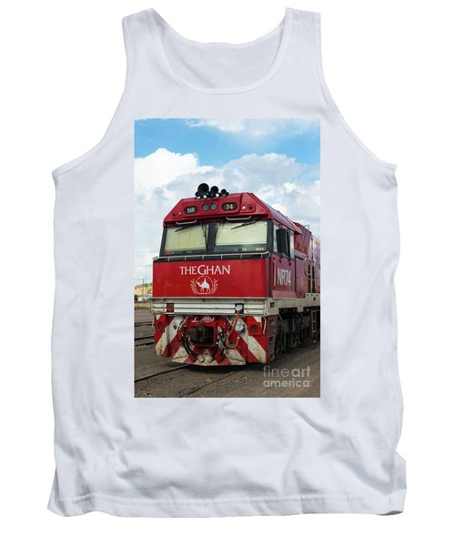 The Famed Ghan Train  Tank Top