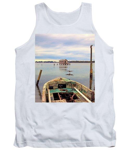 The Fishing Shack Tank Top