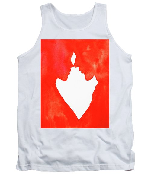 The Flame Of Love Tank Top