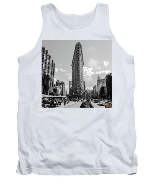 The Flatiron Building New York Tank Top