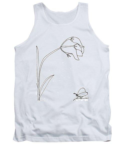 The Flower Tank Top
