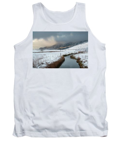 The Front Tank Top by Scott Warner