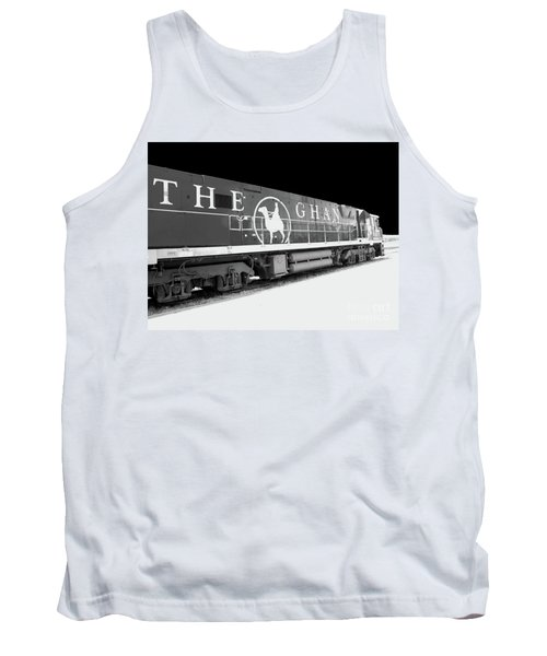 The Ghan Bw Tank Top