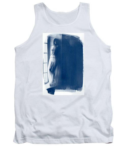 The Girl At The Window. Tank Top by Andrey  Godyaykin