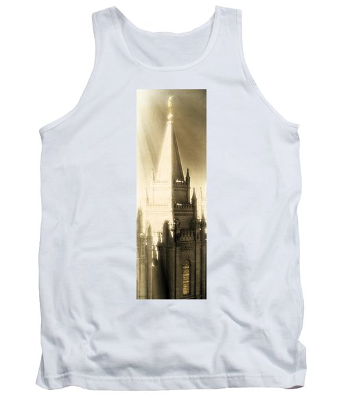 Tank Top featuring the photograph The Glory Of The Lord Shone Round About by Greg Collins