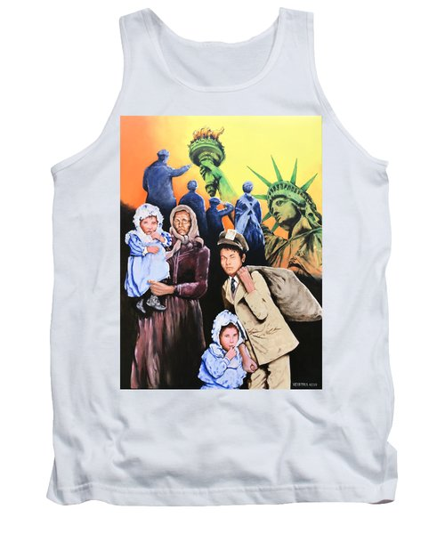 The Golden Gate To America Tank Top