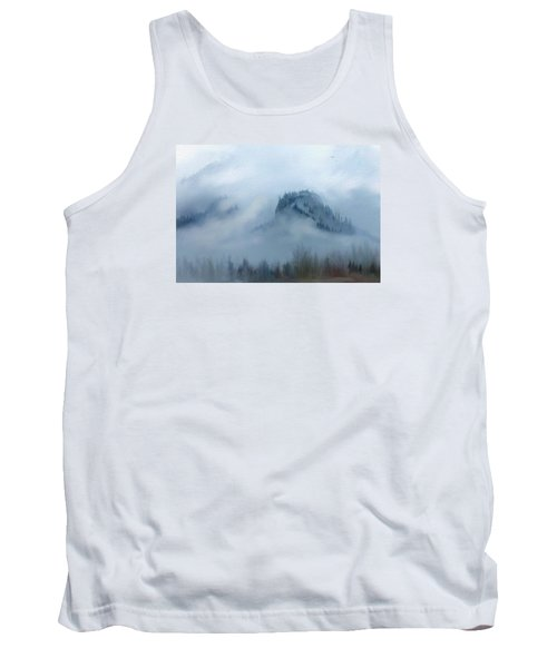 The Gorge In The Fog Tank Top