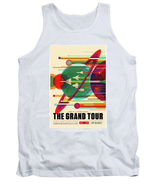 The Grand Tour - Nasa Vintage Poster Tank Top
