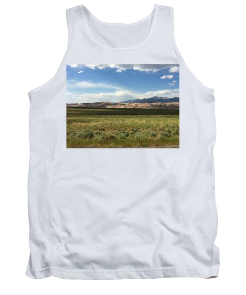 Tank Top featuring the photograph The Great Sand Dunes by Christin Brodie