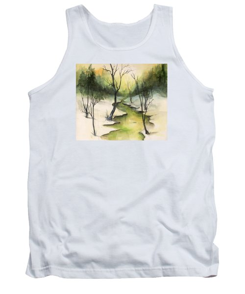 The Greenwood Tank Top by Terry Webb Harshman