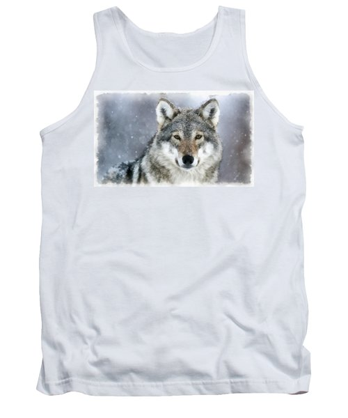 The Grey Wolf Tank Top