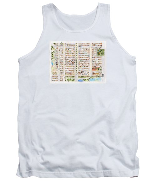The Harlem Map Tank Top by AFineLyne